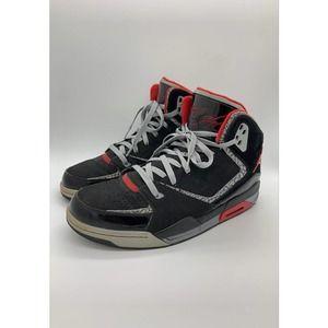 Air Jordan Flight SC-2 Men's Black/Red Sneakers 11